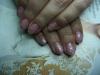 Nagelstudio Bielefeld, Naildesign: rosa Glitter